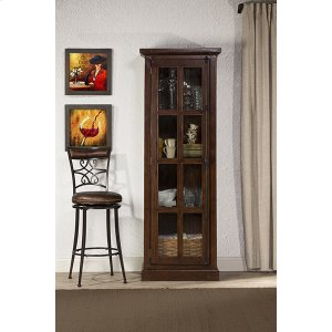 Hillsdale FurnitureTuscan Retreat(r) Tall Single Door Cabinet - Rustic Mahogany