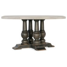 Dining Room Applewhite 60in Round Dining Table Base