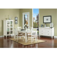 Nova White Leg Table