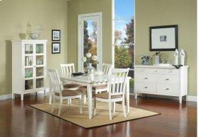 Nova White Leg Table