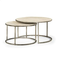 Modern Basics Round Cocktail Table