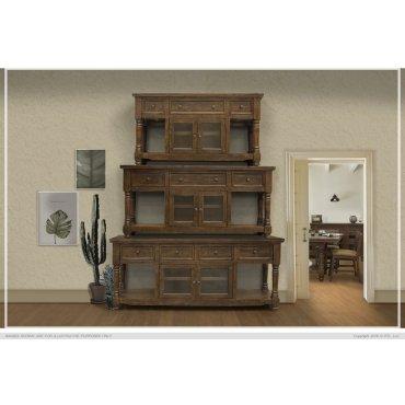 """60"""" TV Stand 3 Drawer, 2 Door"""