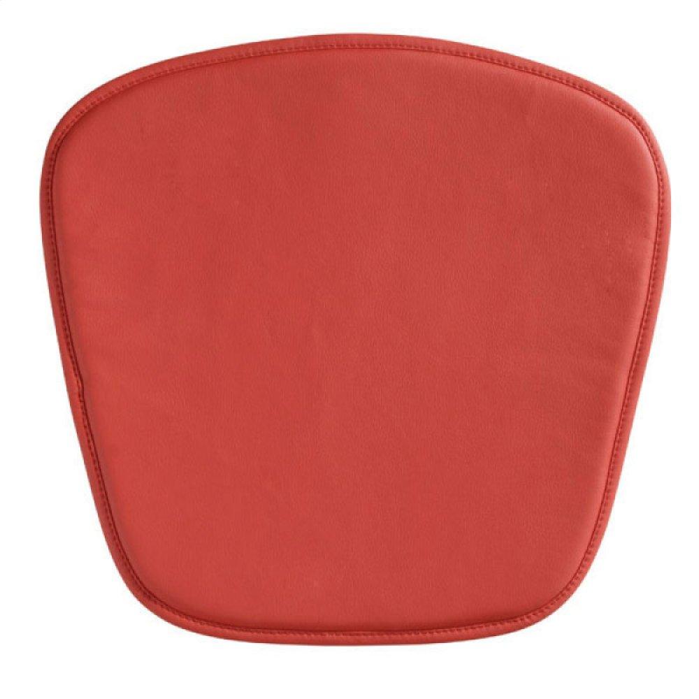 Wire/mesh Chair Cushion Red