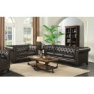 Roy Traditional Brown Two-piece Living Room Set Product Image