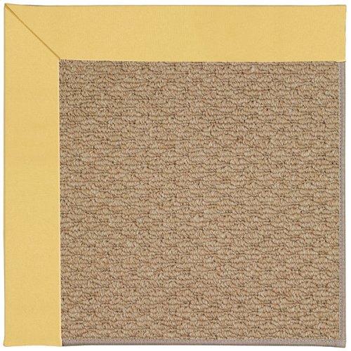 Creative Concepts-Raffia Canvas Canary Machine Tufted Rugs