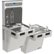 Elkay EZH2O Bottle Filling Station with Bi-Level ADA Cooler, Filtered 8 GPH Stainless