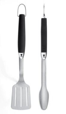 WEBER ORIGINAL - Stainless Steel Two-Piece Barbecue Tool Set