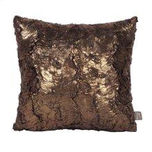 "16"" x 16"" Pillow Gold Cougar"