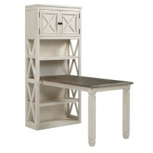 Bolanburg - Two-tone 2 Piece Home Office Set