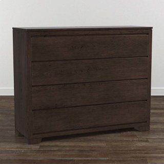 Bench*Made Oak 4 Drawer Dresser
