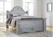 King Footboard Storage Box Product Image