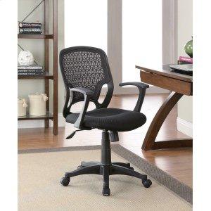 CoasterCasual Black Mesh Office Chair