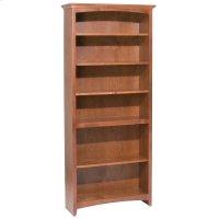 """GAC 72""""H x 30""""W McKenzie Alder Bookcase Product Image"""