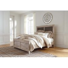 Willabry - Weathered Beige 3 Piece Bed Set (Queen)