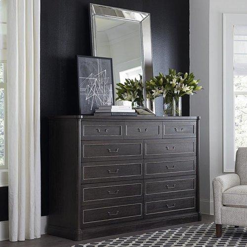 French Grey Martinique 11 Drawer Dresser