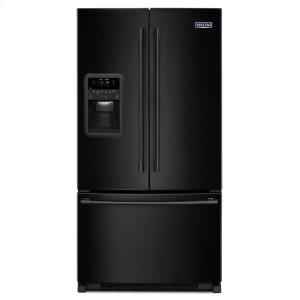 Maytag33- Inch Wide French Door Refrigerator with Beverage Chiller Compartment - 22 Cu. Ft.