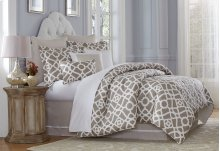 9pc Queen Comforter Set Natural