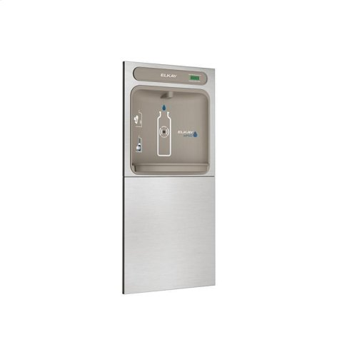 Elkay EZH2O In-Wall Bottle Filling Station, Non-Filtered Non-Refrigerated Stainless