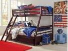 Halanton - Dark Brown 3 Piece Bedroom Set Product Image