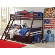 Halanton - Dark Brown 3 Piece Bedroom Set