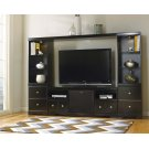 Shay - Black 5 Piece Entertainment Set Product Image