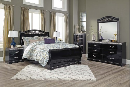 Constellations - Black 3 Piece Bed Set (Queen)