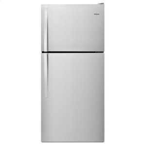 30-inch Wide Top Freezer Refrigerator - 18 cu. ft. - MONOCHROMATIC STAINLESS STEEL