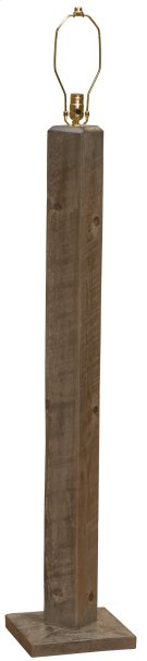 Frontier Floor Lamp - Driftwood - without Lamp Shade Product Image