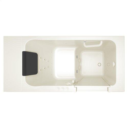 Luxury Series 28x48-inch Combination Massage Walk-in Tub  American Standard - Linen