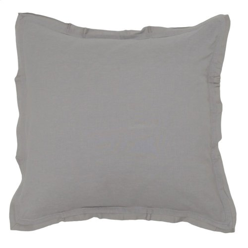 Harlow Gray 3Pc Euro Sham Set