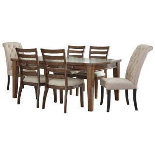 Flynnter 7 Piece Dining Set