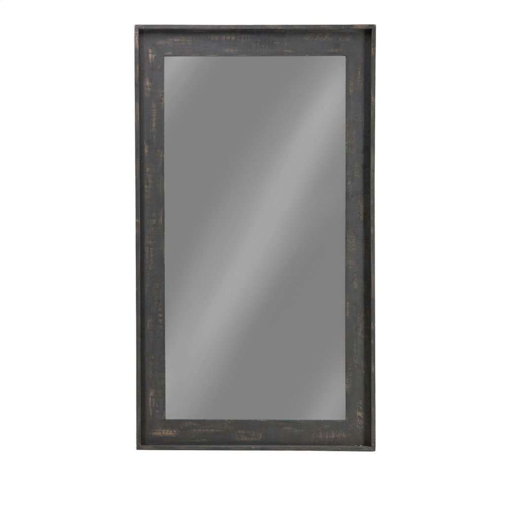 Distressed Brown Accent Mirror