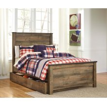 Trinell - Brown 5 Piece Bed Set (Full)