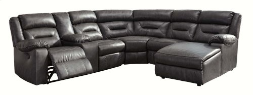 Coahoma - Dark Gray 7 Piece Sectional