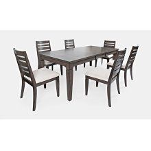 Lincoln Square Extension Dining Table With 4 Chairs