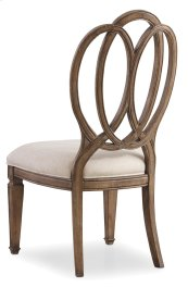 Dining Room Solana Wood Back Side Chair