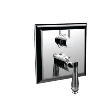 "7099dc-tm - 1/2"" Thermostatic Trim With Volume Control and 3-way Diverter in Polished Chrome"