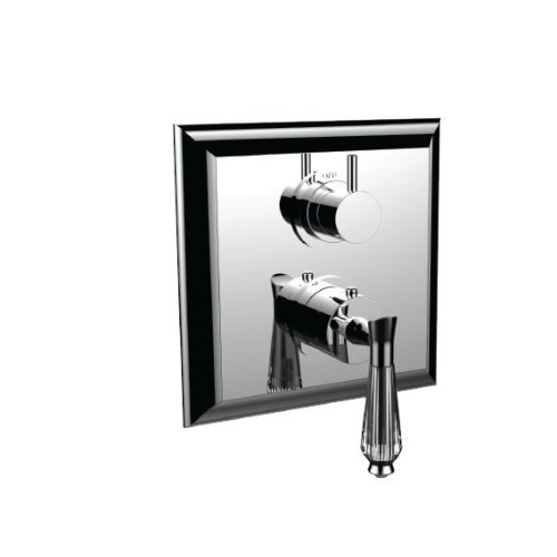"""7099dc-tm - 1/2"""" Thermostatic Trim With Volume Control and 3-way Diverter in Standard Pewter"""