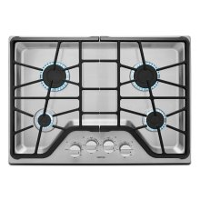30-inch Wide Gas Cooktop with Power Burner