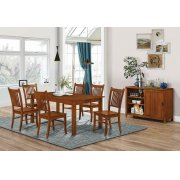 Marbrisa Mission Burnished Oak Side Chair Product Image