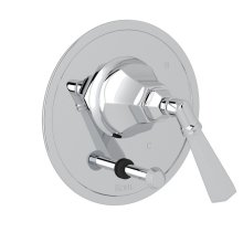 Polished Chrome Palladian Pressure Balance Trim With Diverter with Metal Lever