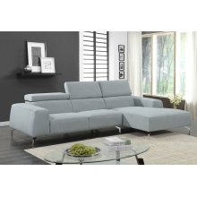Lincoln Sky Blue Sectional