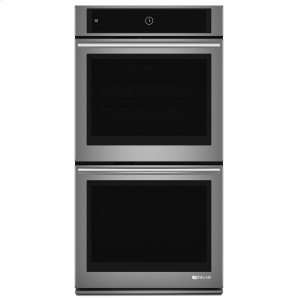 "Jenn-AirEuro-Style 27"" Double Wall Oven with Upper MultiMode® Convection System Stainless Steel"