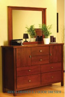 8800 6 Drawer Dresser