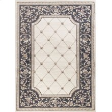 "Avalon 5614 Ivory/grey Courtyard 5'3"" X 7'7"""