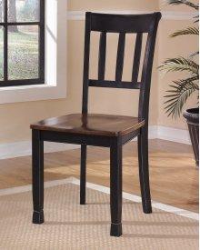 Owingsville - Black/Brown Set Of 2 Dining Room Chairs