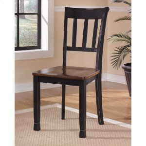 Ashley Furniture Owingsville - Black/brown Set Of 2 Dining Room Chairs
