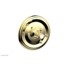 "HEX TRADITIONAL 1/2"" Mini Thermostatic Shower Trim 4-097 - Polished Brass"
