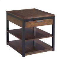 Franklin Rectangular Drawer End Table