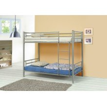 Denley Metal Twin-over-twin Bunk Bed